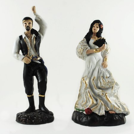 Casal de Ciganos Branco (Pequeno)