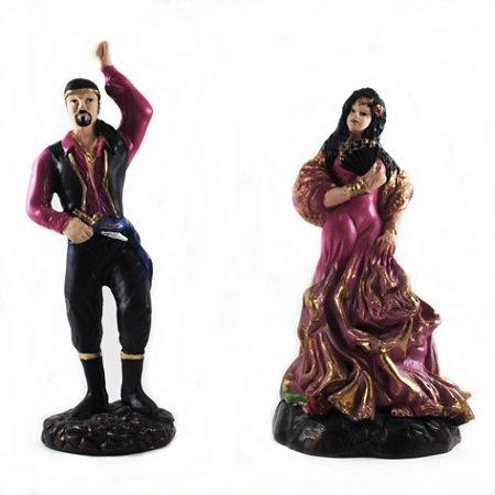 Casal de Ciganos Rosa (Pequeno)