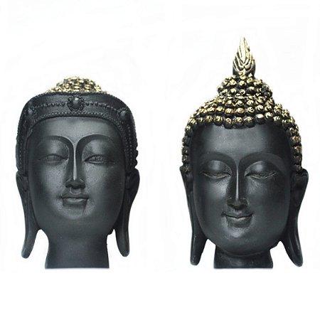 Cabeça Buda Casal