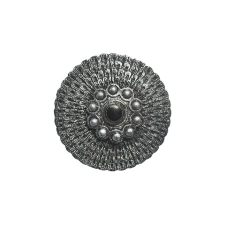 Escudo de Ogum Médio Pintura em Prata