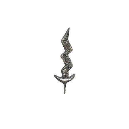 Espada de Iansã Media Pintura em Prata