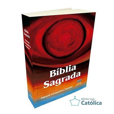 Bíblia Sagrada - Pastoral Catequética Popular - 616096