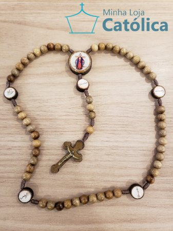 Terço virtudes Santas Chagas - 109682