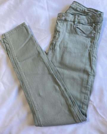 Calça Jeans Feminina Zara