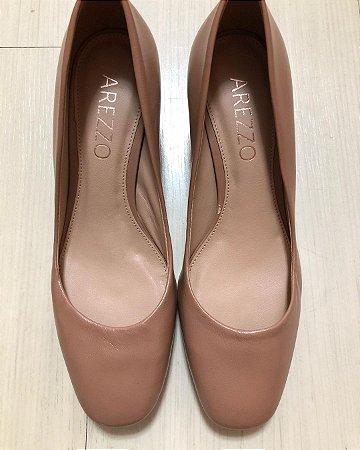 Sapato Arezzo Nude