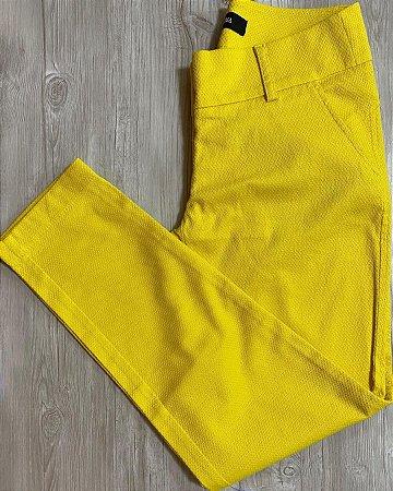 Calça Amarela Skinny