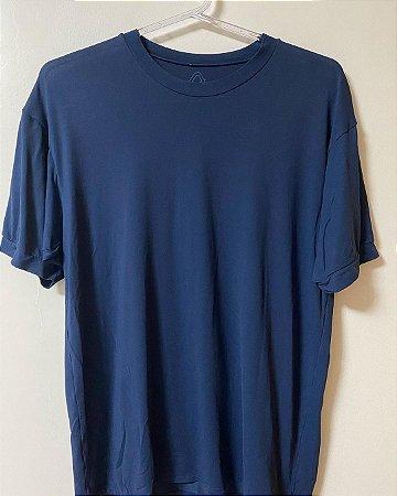 Camiseta Track Field Azul Dry