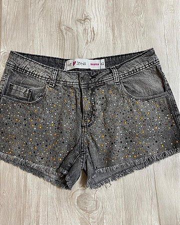 Shorts Jeans Pedras
