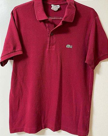 Camisa Polo Lacoste Marsala