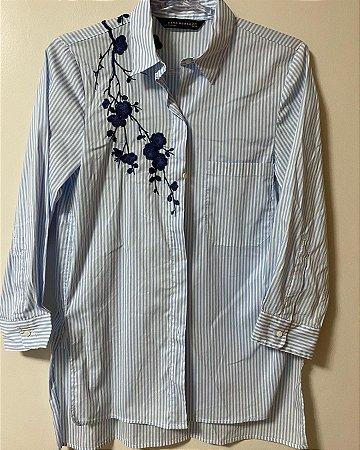 Camisa Zara Bordada