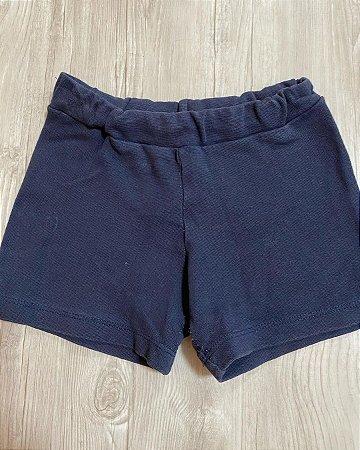 Shorts Moletom