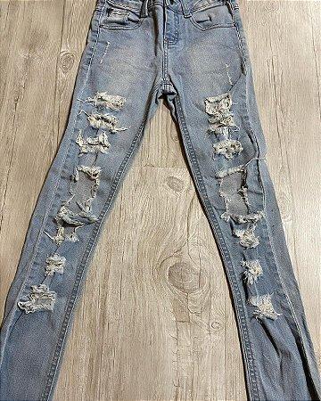 Calça Jeans Destroyed Infantil
