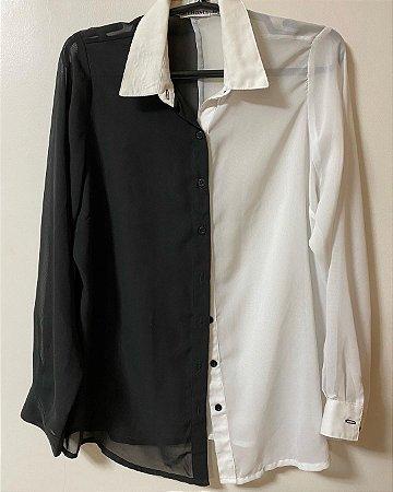 Camisa Preta e Branca