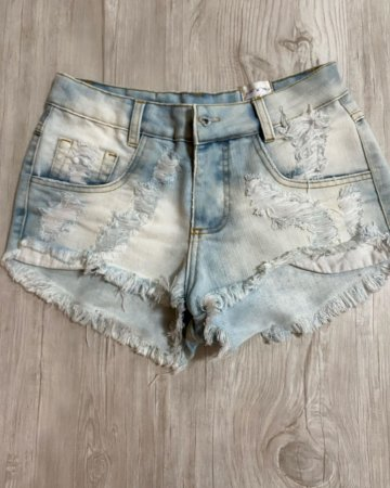 Shorts Jeans Curto