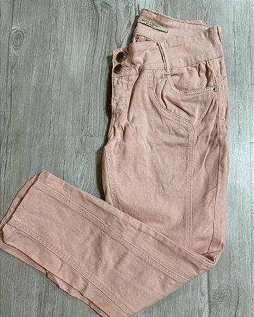 Calça Jeans Rosa Skinny