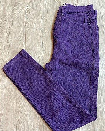 Calça Jeans Roxo