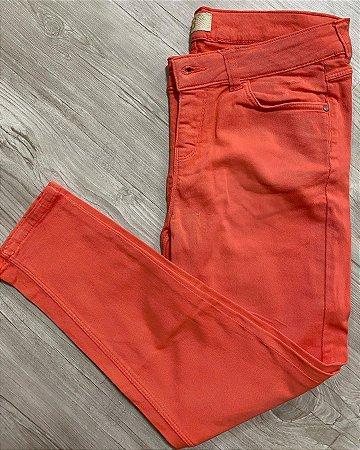 Calça Jeans Laranja