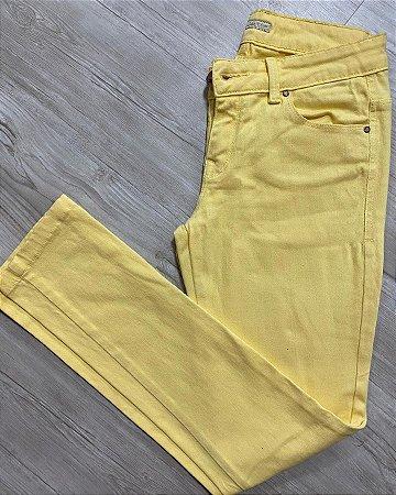 Calça Jeans BobStore Amarela