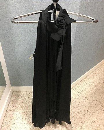 Vestido Seda e Renda