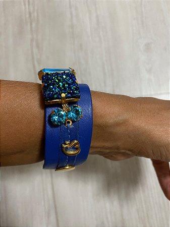 bracelete couro