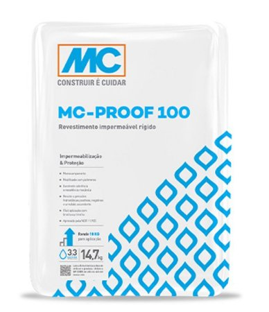 Impermeabilizante Semiflexível Proof 100 Mc Bauchemie (14,7 kg)