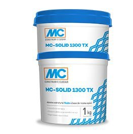 Adesivo Epoxi Solid 1300 TX Mc Bauchemie (1 kg)