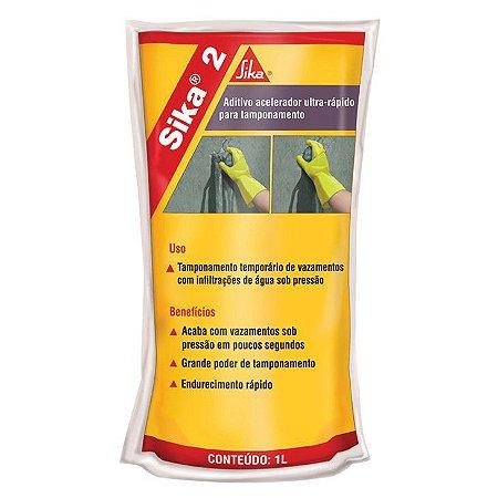 Aditivo Acelerador de Pega SIKA 2 (1 l)