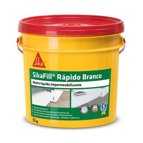 Sikafill Rapido Branco Bd - 15 Kg