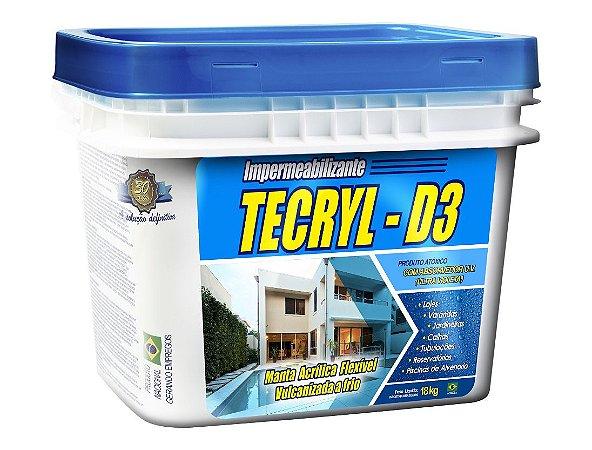 Tecryl D3 Cinza - 18 Kg