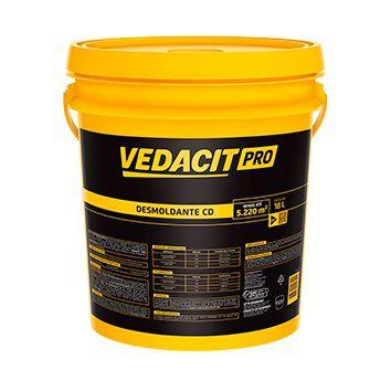 Desmoldante para forma de madeira  Desmol CD 18 l -Vedacit