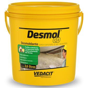 Desmoldantepara forma de madeira  Desmol CD 3,6 l-Vedacit
