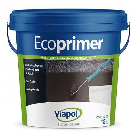 Primer para colagem de manta asfaltica-Ecoprimer Viapol (18 kg)