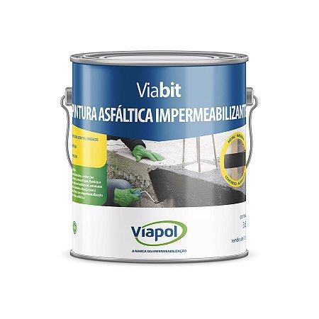 Pintura asfáltica e primer Viabit Viapol (3,6l)