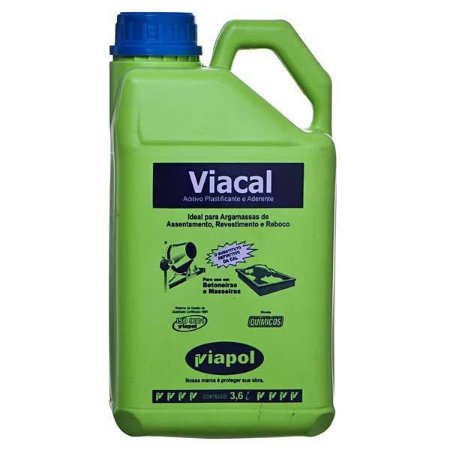 Aditivo Plastificante para argamassa Viacal Viapol (3,6 l)