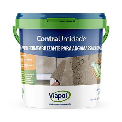 Aditivo Impermeabilizante Contra Umidade Viapol (3,6l)