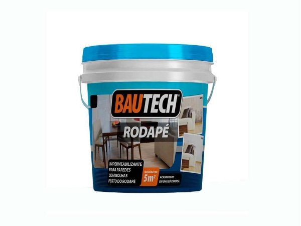 Impermeabilizante para parede e Rodape - Bautech rodape (12 kg)