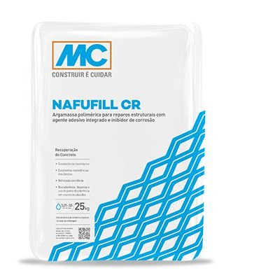 Argamassa para Reparo estrutural Nafufill CR Mc Bauchemie (25 kg)