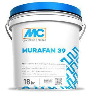 Adesivo acrilico para argamassa Murafan 39 Mc Bauchemie (18 L)