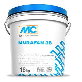 Adesivo para argamassa e chapisco Murafan 38 Mc Bauchemie(18L)