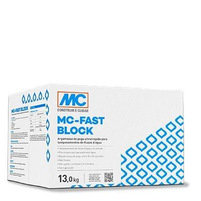 Argamassa de Tamponamento Mc Fast Block MC Bauchemie(13 kg)