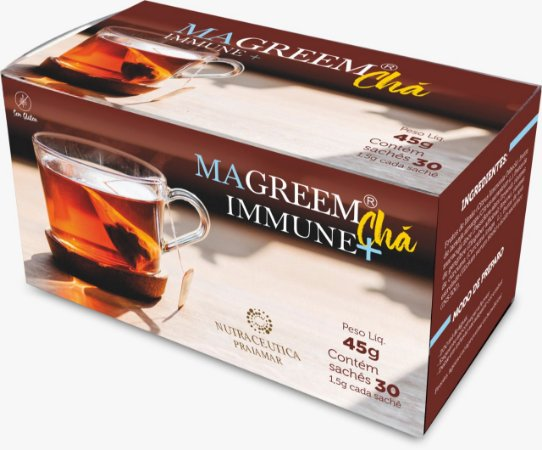 Chá Natural Magreem Immune + 30 sachês