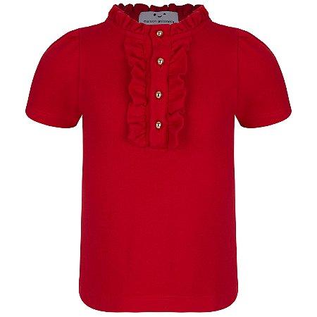 Blusa Cambridge Red