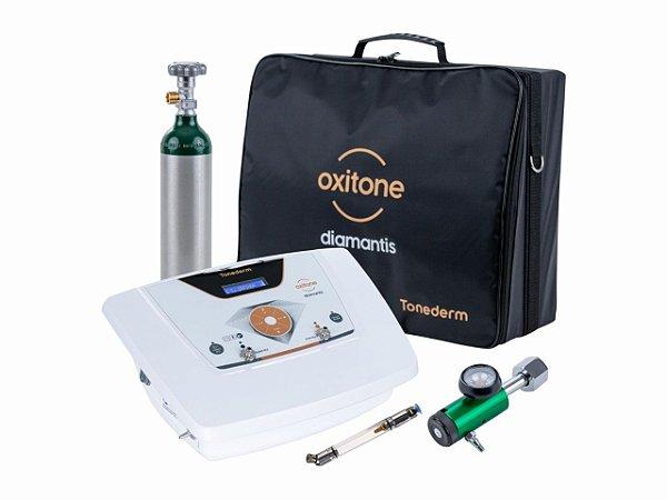 Oxitone DIAMANTIS Aparelho de Ozonioterapia com Cilindro e Bolsa Tonederm