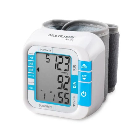 Monitor de Pressão Arterial Pulso - Multilaser