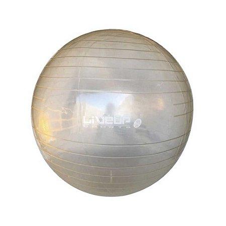 Bola de Pilates 65cm Transparente - Live up