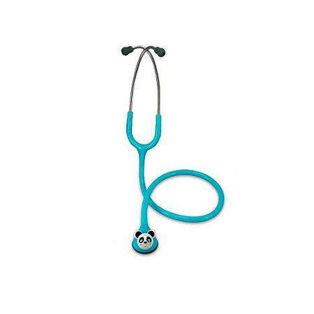 Estetoscópio Master Lite Fun Animal Pediátrico - SPIRIT - Azul