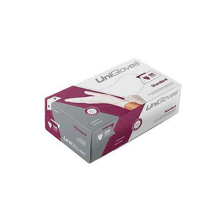 Luva de procedimento não cirurgico Standard Latex com Pó - Unigloves