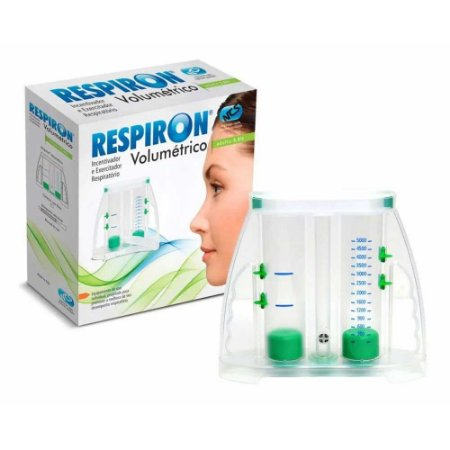 Respiron Volumétrico Adulto - Respivol - 5L - Verde - NCS