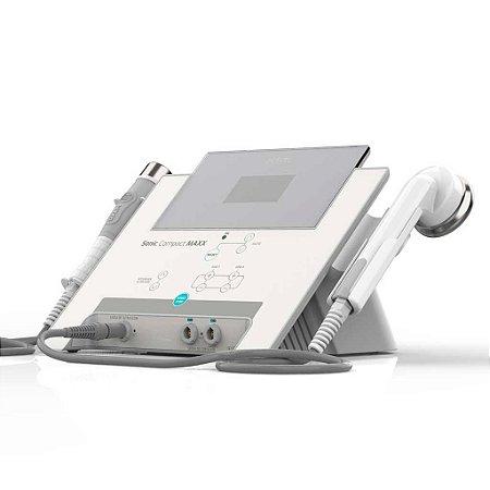 Sonic Compact Maxx HTM - Plataforma de ultrassom corporal e facial  1/3/5 Mhz com Multicorrentes 2 canais