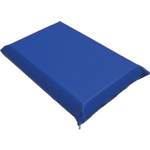 Travesseiro de Espuma 60x40x0,1cm Acabamento em Napa Preto - Só Espuma
